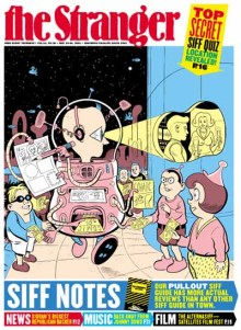 Cover by Dan Clowes for The Stranger, 24-30 May 2001