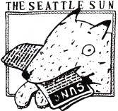 Dog Head (Seattle Sun ad) by Lynda Barry (1979)