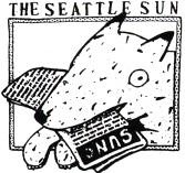 Dog Head (Seattle Sun ad) by Lynda Barry (1979)