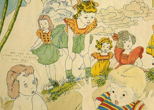 Image by Henry Darger, from www.saraayers.com/darger.htm