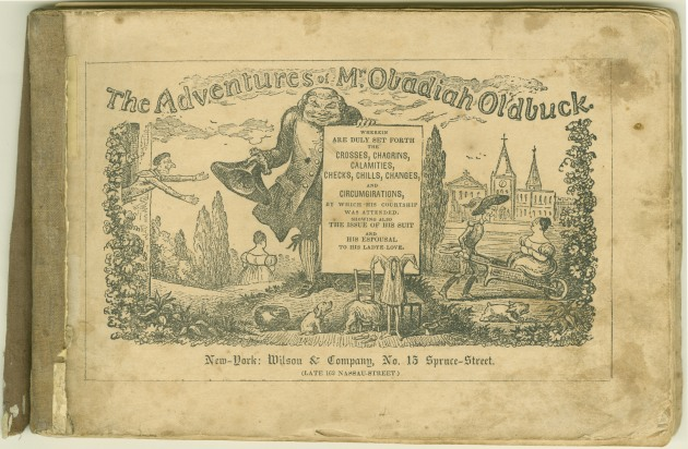 Töpffer's Obadiah Oldbuck (New York, c. 1842), courtesy of the Dartmouth Digital Library Program